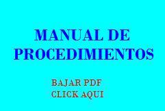 Manual de procedimientos todo ingenieria industrial for Manual de procedimientos de una empresa de alimentos