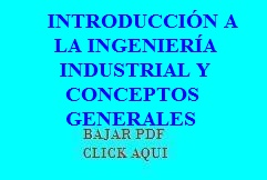 Ingenieria Industrial Pdf